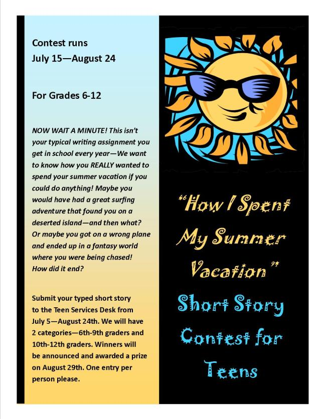 essay contests for teenagers 2012 The essay contest has closed contest winners will be posted after the holidays check back in august for next contest.