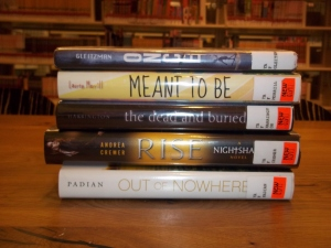 Teen Book Spine Poetry Contest - 2nd Place Winner
