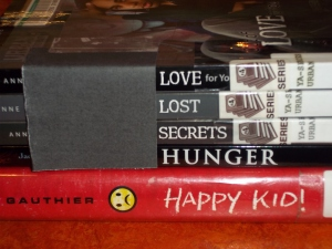 Book Spine Poetry 2013