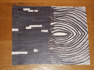 Black-out Poetry Art
