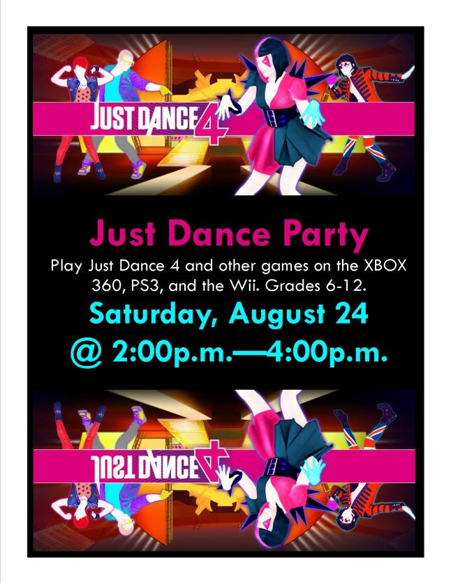 Just Dance party Aug 2013