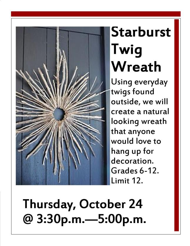 starburst oct 2013