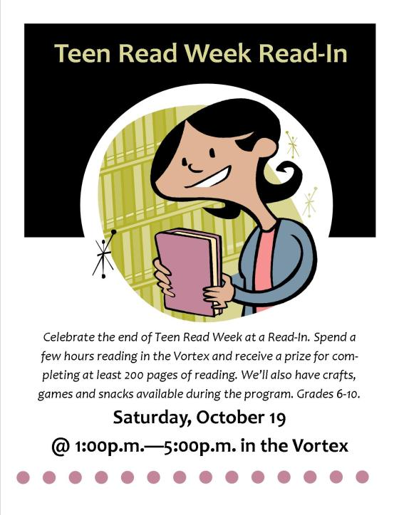 teen read read in oct 2013