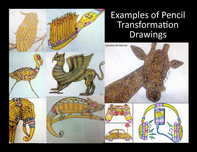 pencil transform examples
