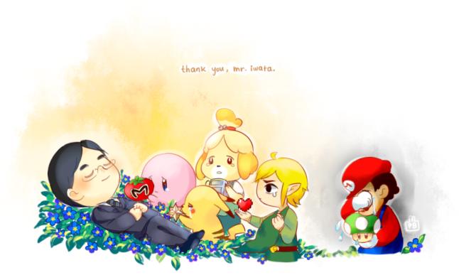 thank you iwata san