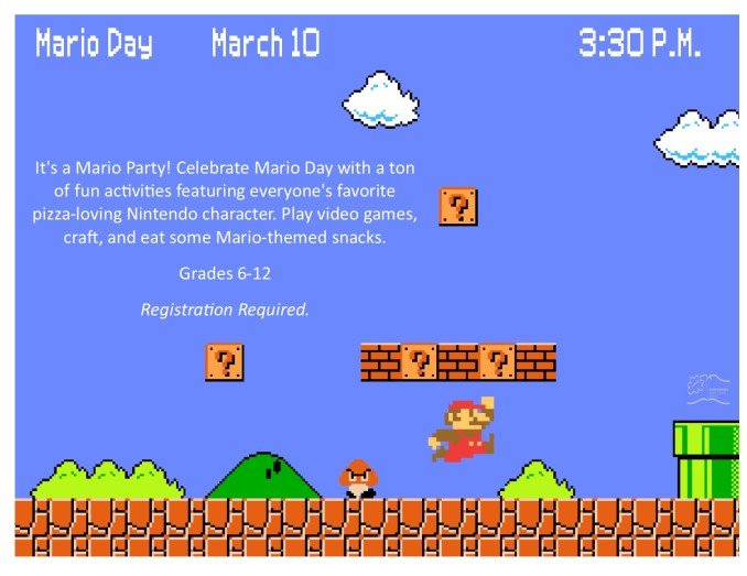 2016 MAR_MAY Mario Day