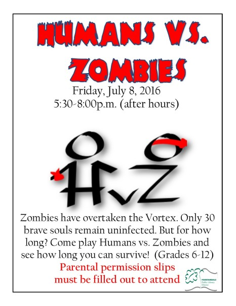 2016 JUNE_AUG Humans vs Zombies