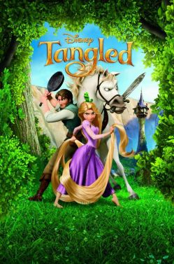tangled movie cover