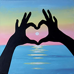 teen-art-scene_sunset_love