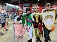 RWBY: Nora, Ren, Pyrrha and Jaune