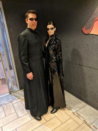 Neo & Trinity from the Matrix