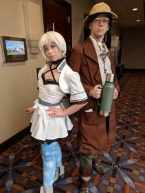 Weiss and Oobleck from RWBY