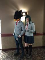 Tokoyami and Tsu - My Hero Academia