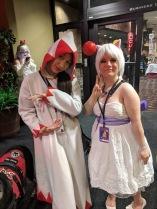 White Mage and Moogle (me!)