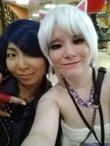 Yusuke (Persona 5) and Moogle (me!)