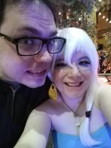SELFIE TIME WITH THE HUSBAND