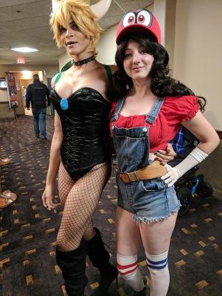 Bowsette & Mario